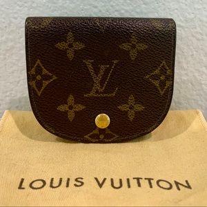 RARE! LOUIS VUITTON Monogram Porto Monegse Wallet